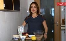 Ana Ni Ribeiro mostra como se faz bolo de frutos vermelhos