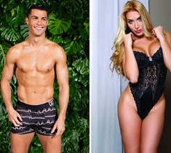 Italiana de 'reality show' assume relação com Ronaldo e faz revelações sexuais