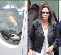 Ex-mulher de Jesus presente no funeral do sogro