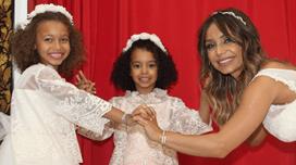 Veja como cresceram as filhas de Luciana Abreu