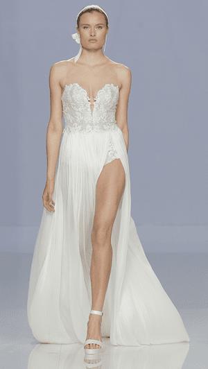 Os vestidos de noiva Rosa Clará