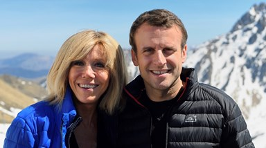 Emmanuel e Brigitte Macron: uma história de amor incomum