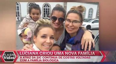 Luciana Abreu cada vez mais próxima da amiga especial