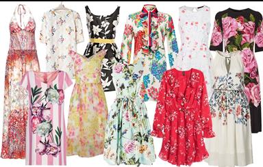 Vestidos florais: a grande aposta desta estação