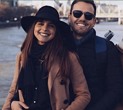 Sara Matos e Pedro Teixeira aproveitaram o fim-de-semana para namorar