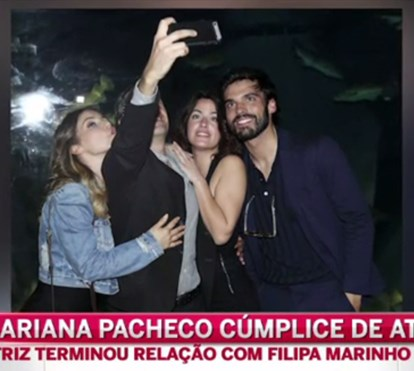 Mariana Pacheco e Vítor Silva Costa em clima de cumplicidade