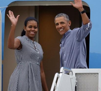 Casal Obama de férias em iate de luxo com a companhia de Oprah e Tom Hanks