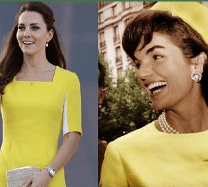 Kate Middleton comparada a ex-primeira-dama dos EUA Jackie Kennedy