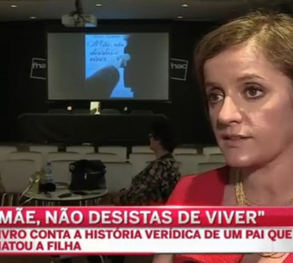 Tânia Laranjo lança livro de crime sobre história verídica