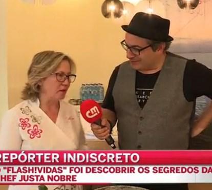 Repórter Indiscreto descobre os segredos da chef Justa Nobre