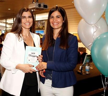 Carolina Afonso e Sandra Alvarez apresentam livro 'Ser Blogger'