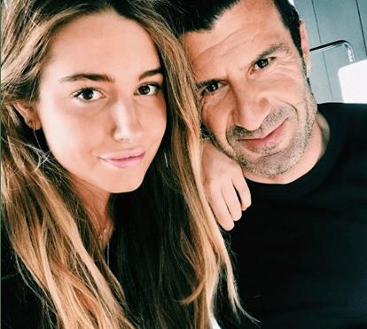 Filha de Luís Figo envolvida em polémica sexual