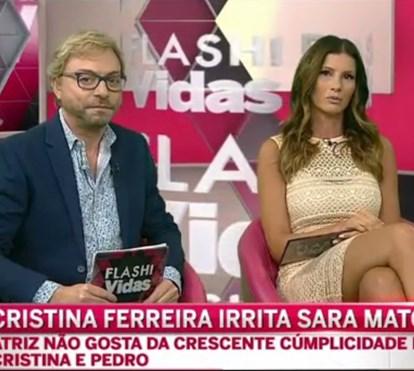 Tertúlia comenta: Cristina Ferreira irrita Sara Matos