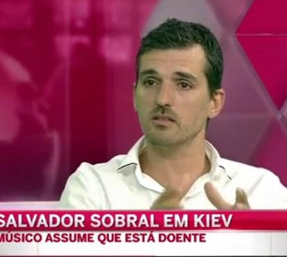 Tertúlia comenta problema de saúde de Salvador Sobral