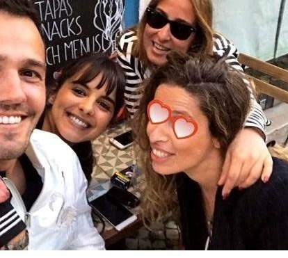 Após crise de ciúmes, Sara Matos e Pedro Teixeira reconciliam-se