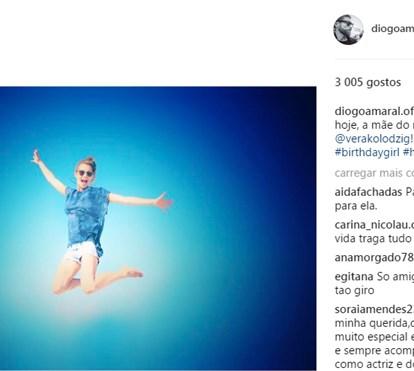 Diogo Amaral faz declaração de amor a Vera Kolodzig mas falta a aniversário