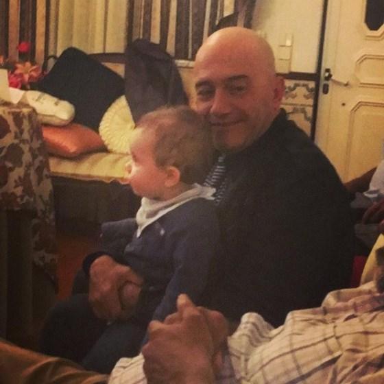 José Raposo foi avô pela segunda vez