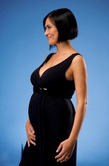 Fátima Lopes mostra fotos da gravidez