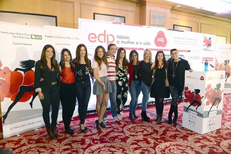 Projeto solidário da EDP  com caras conhecidas