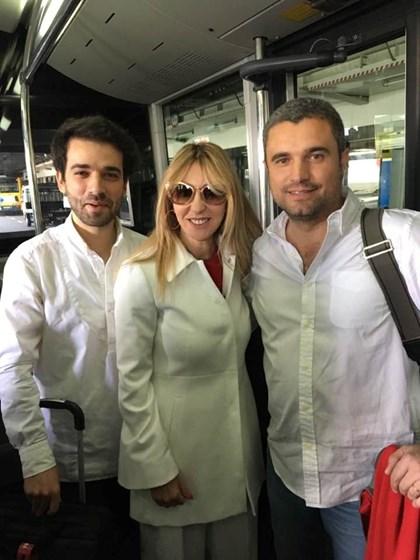 Judite Sousa a caminho de Paris depois de sessão fotográfica de luxo
