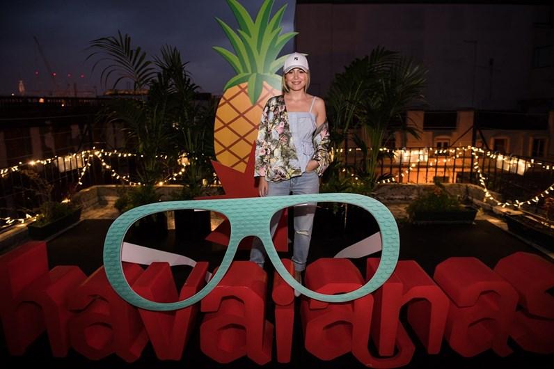 Festa de lançamento Havaianas Eyewere