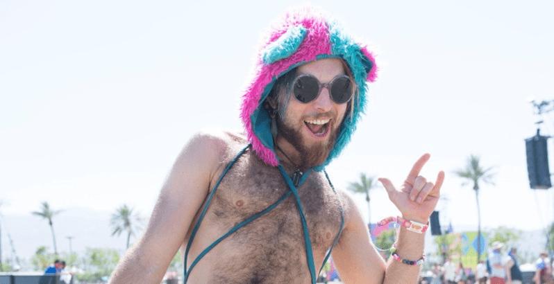 As excentricidades do Coachella