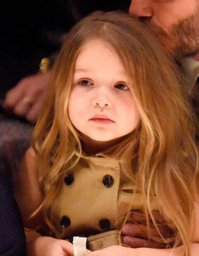 Harper Beckham com 3 anos