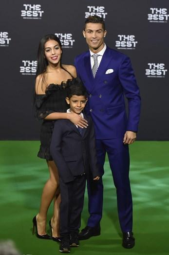 Cristiano Ronaldo, Cristianinho e Georgina