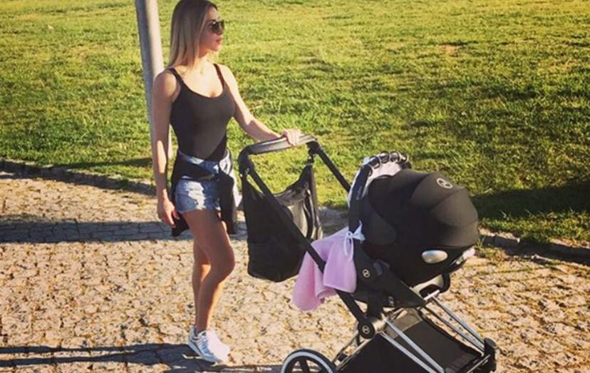 Laura Figueiredo já está recuperada do parto