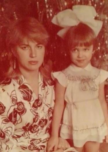 Irina Shayk com a mãe