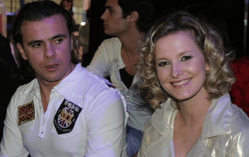 António Casinhas e Cristina Ferreira há cerca de 8 anos, quando nasceu o filho de ambos, Tiago. Foi após a separação que renovou a sua imagem e começou a montar um verdadeiro império.