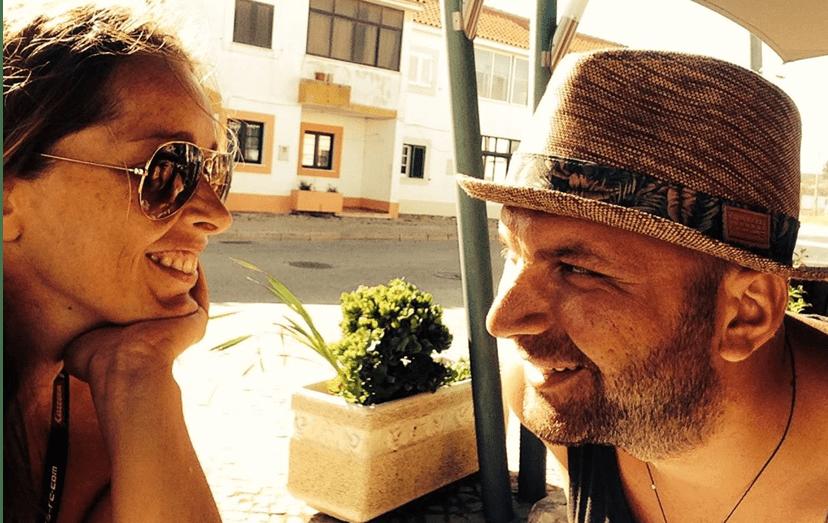 Mónica Franco e o companheiro estão juntos há 8 anos e continuam muito apaixonados