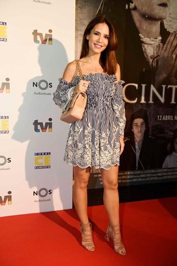 Olivia Ortiz na antestreia do filme 'Jacinta'