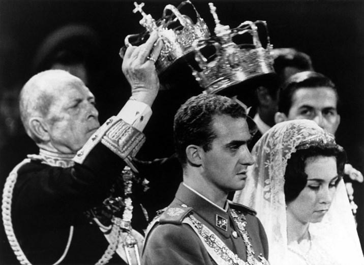 A coroação de Juan Carlos como rei de Espanha