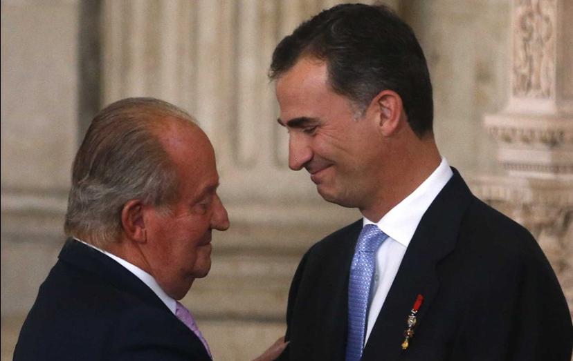 Felipe VI sucedeu ao pai, o rei Juan Carlos