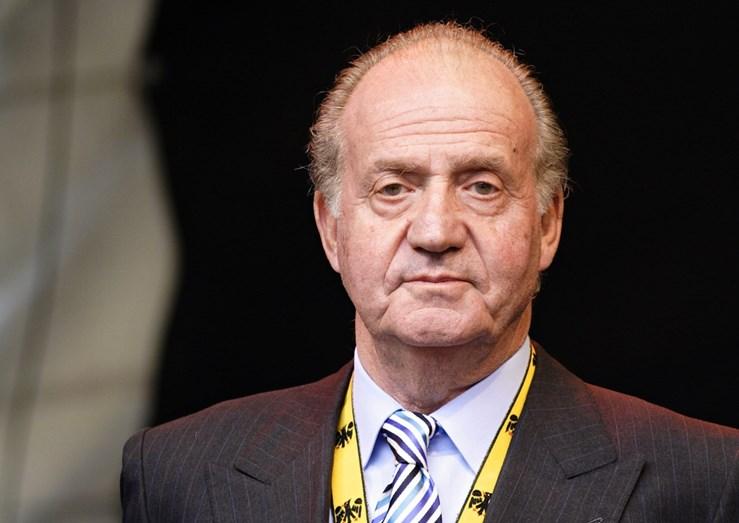 Juan Carlos, antes de abdicar do trono