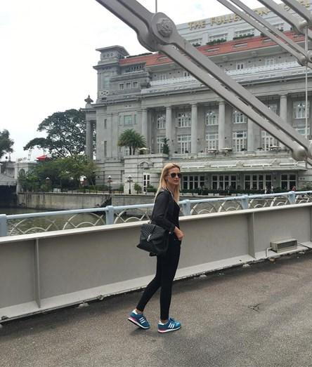 Um passeio por Singapura