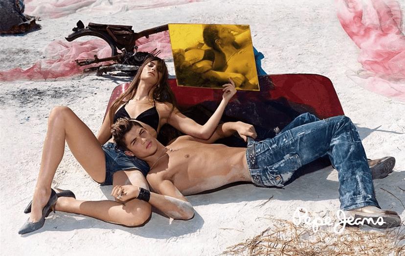 O craque numa sensual produção fotográfica para uma marca de 'jeans' nessa época. O próprio apresentou-se na esquadra, foi detido para interrogatório e acabou ilibado, dessa primeira acusação de violação