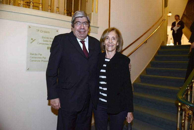 Eduardo Ferro Rodrigues e Maria Filomena Lopes
