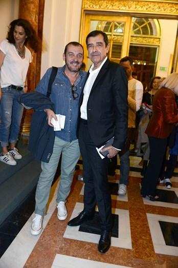 José Eduardo Moniz e Pedro Curto