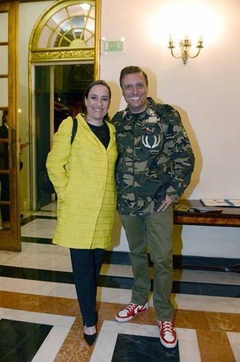 Maria Rueff e Joaquim Monchique