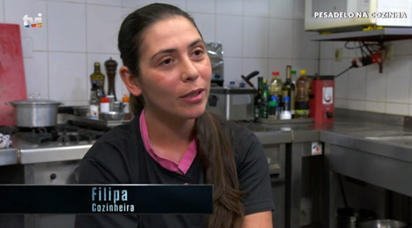 """Filipa Martinez confessa: """"Gostei do beijo, claro que gostei, mas não vou atrás para me casar com o 'chef'""""."""