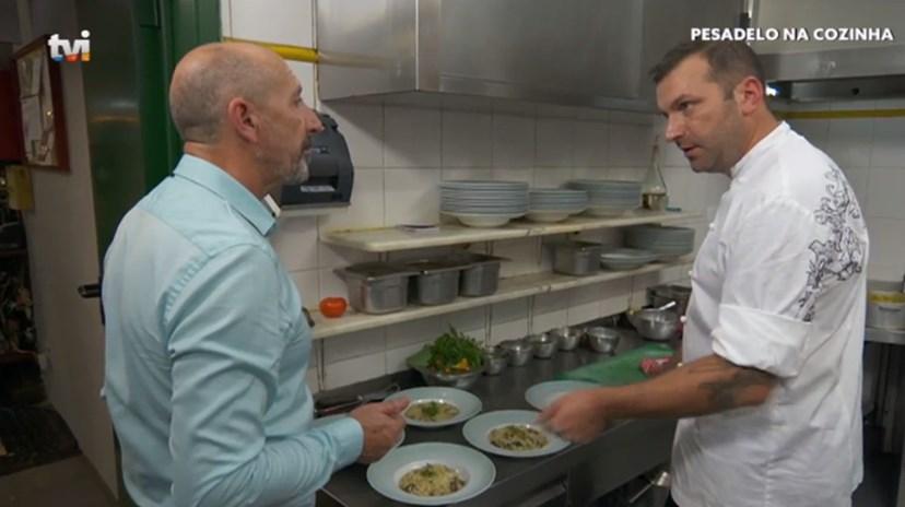 Edmundo Gomes é o proprietário do restaurante 'O Tomate', com quem o 'chef' se passou e quase o agrediu.
