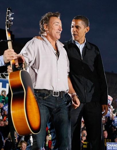 Obama e Bruce Springsteen