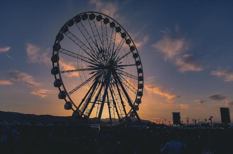 Num festival como este, não podia faltar a roda gigante