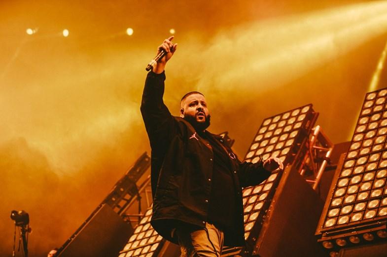 O DJ Khaled também atuou numa das grandes noites
