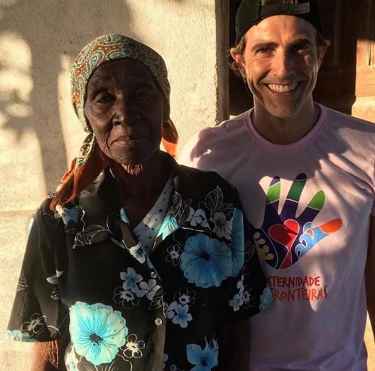 Reynaldo Gianecchini em Moçambique