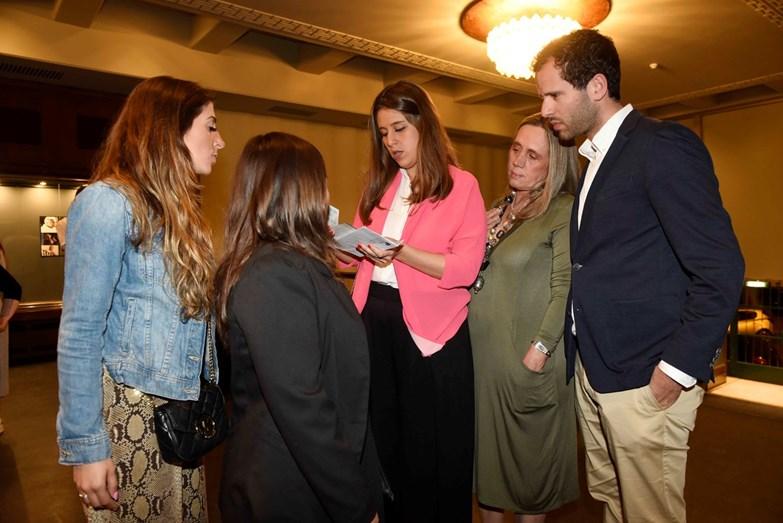 Filhas do Nicolau Breyner, Constança e Mariana e a ex-mulher Cláudia Fidalgo Ramos