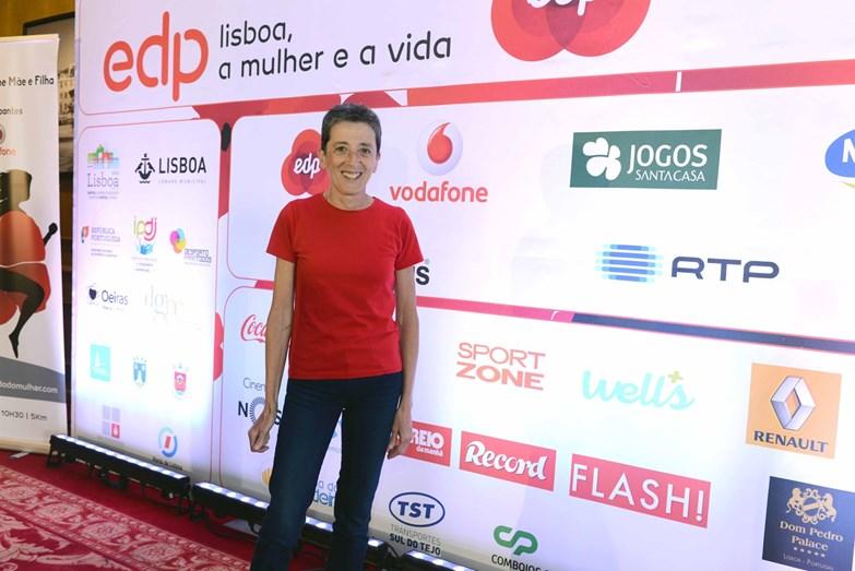 A ex atleta Rosa Mota