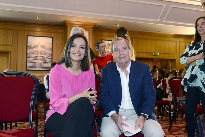 Ana Sofia Vinhas diretora da marca EDP e Carlos Moya